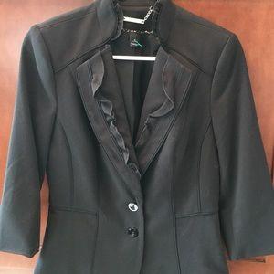 Black White House Black Market Jacket